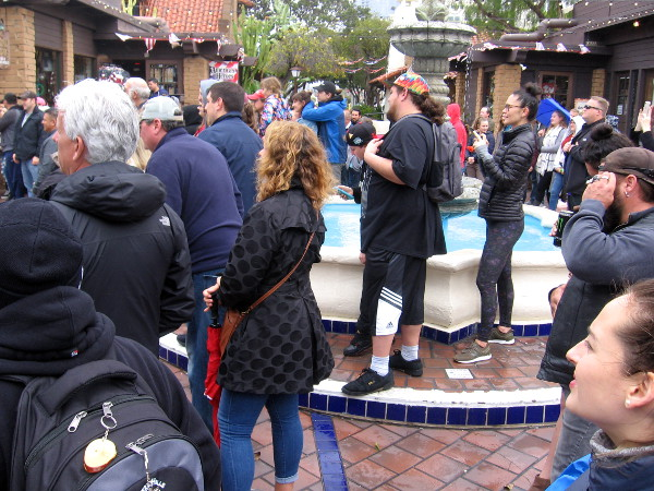 Even with the drizzly, breezy winter weather, people came out to Seaport Village on Saturday to watch some of the best street performers from around the world.