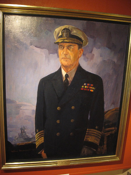 Portrait of Admiral William D. Leahy, oil on canvas, 1936. U.S. Naval Academy Museum.