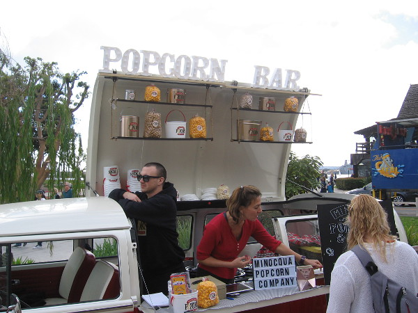 Back near Seaport Village, I spotted this cool Popcorn Bar!