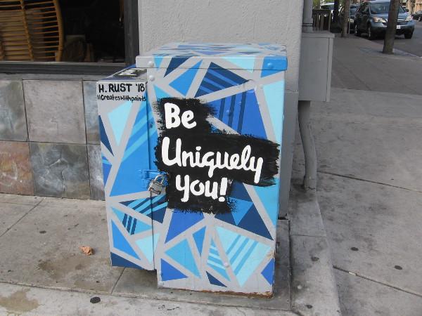 Be uniquely you! #CreatesWithPaints