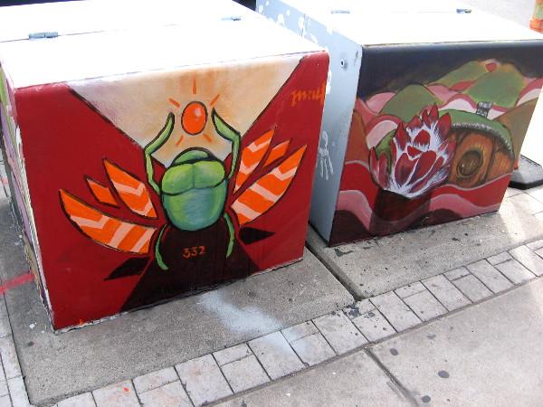 More cool street art along Adams Avenue in Normal Heights.