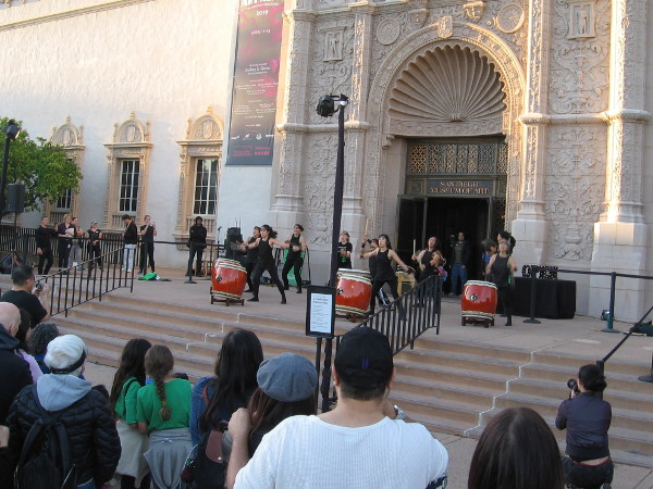 A colorful Celebration of Asian Arts enlivens Balboa Park . . . On The Steps of the San Diego Museum of Art.