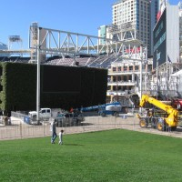Building a permanent concert stage at Petco Park!
