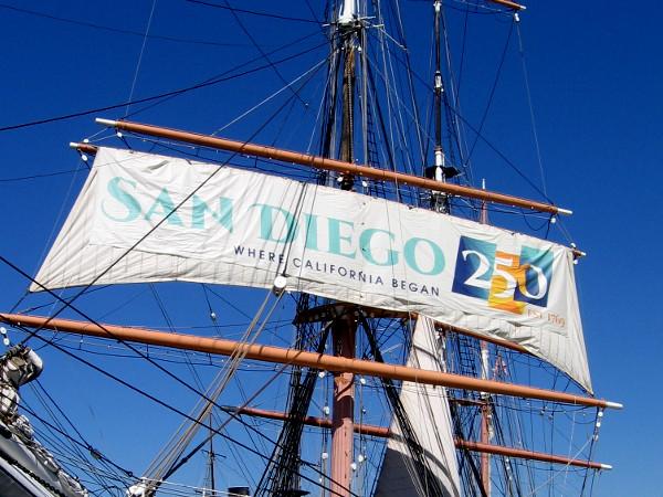 SAN DIEGO 250 - EST. 1769 - WHERE CALIFORNIA BEGAN
