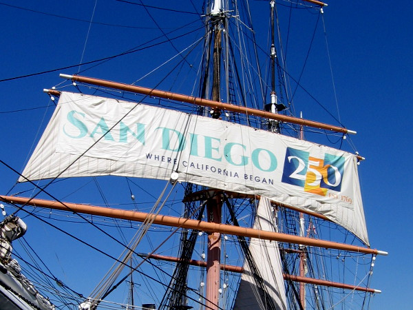 SAN DIEGO 250 - EST. 1769 - WHERE CALIFORNIA BEGAN