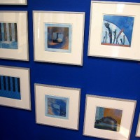 Art exhibition interprets Music in the Key of Blue.