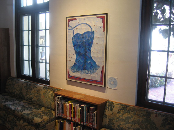 Devil With a Blue Dress On, by currently exhibiting artist Jim Machacek.
