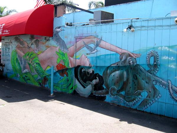 Photos Of Cool Sea Walls Mural In Encinitas Cool San