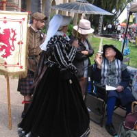Photos of Shakespeare celebration in Balboa Park!
