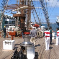 Photos aboard Peruvian Navy tall ship BAP Unión!