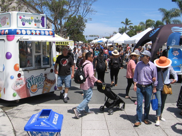 There was a lot to see and do at the 36th Annual Encinitas Spring Street Fair!