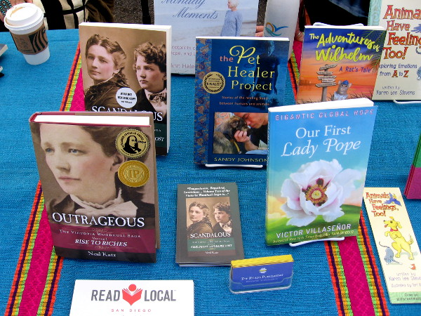 These books are by authors around Southern California. If you're an author or reader, learn more at sandiego.readlocal.org