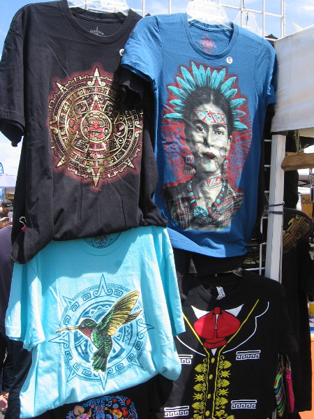 Some cool t-shirts.