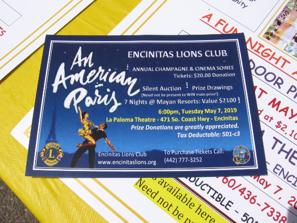 Get a ticket for An American in Paris. Funds raised go toward a program that helps those who are blind learn to surf. Amazing!