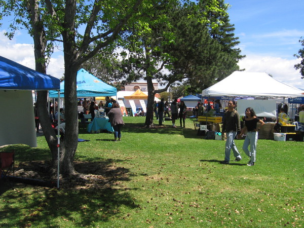 A perfect, sunny spring day at South Bay Earth Day!