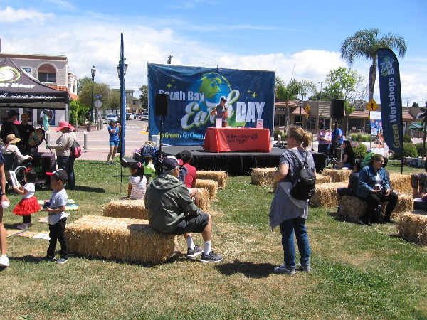 Community members learn how to protect the environment at South Bay Earth Day!