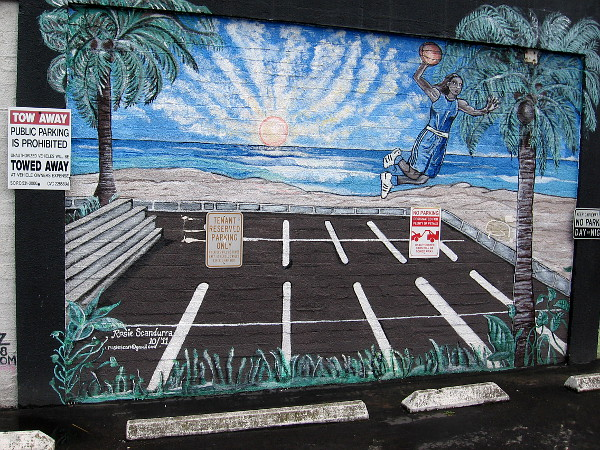 Cool Murals In Front Of California Tap Room Cool San