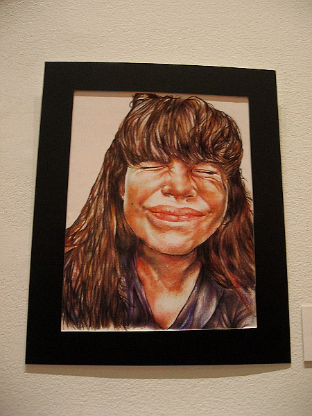 Pure Joy, Julianna Pantoja, colored pencil. Otay Ranch High School.