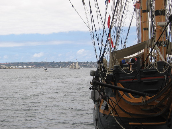 Looking beyond HMS Surprise, which you might remember seeing in the great movie Master and Commander.