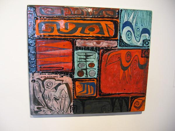Untitled, 1969, enamel on steel. Kay Whitcomb.
