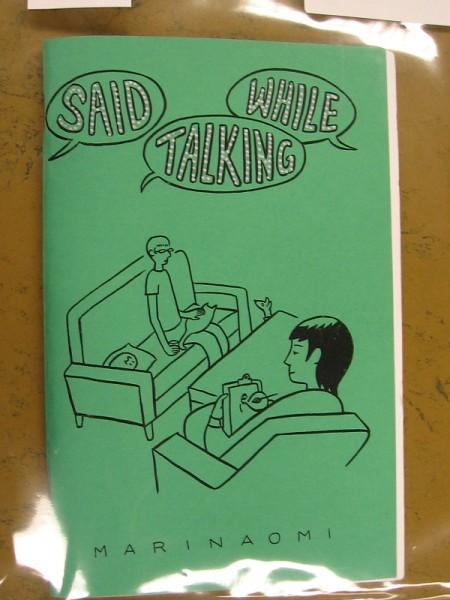 Said While Talking, by Marinaomi