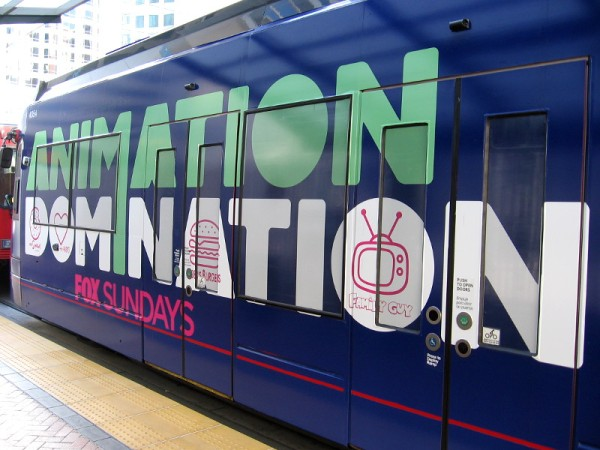 Animation Domination. FOX Sundays.