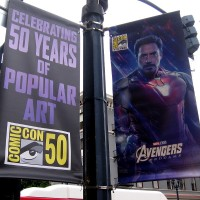 Avengers: Endgame banners appear in Gaslamp!