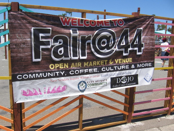 Welcome to Fair@44 Open Air Market and Venue. Community, Coffee, Culture and More.