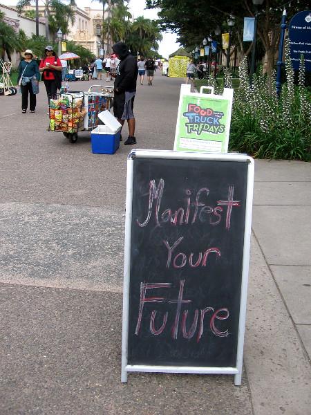 Manifest Your Future in Balboa Park!