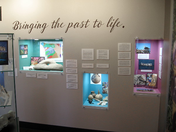 The Chula Vista Heritage Museum now has an exhibit that includes Kumeyaay history in the South Bay. Bringing the past to life.