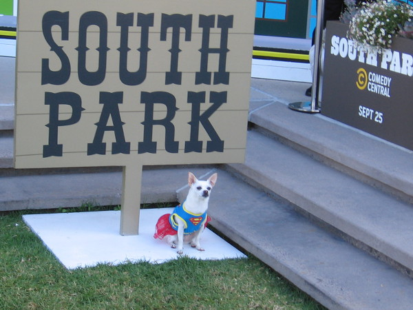 Krypto the Superdog has entered South Park during 2019 Comic-Con.