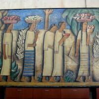 World-famous fine art inside the Coronado Library.