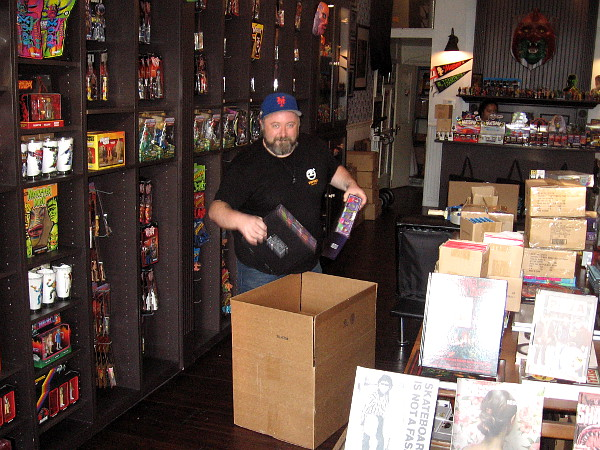 I stepped inside Super7 in East Village and learned they're stocking up and almost ready for Comic-Con! They'll also have a booth inside the San Diego Convention Center.