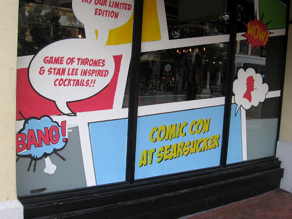 Businesses in the Gaslamp are jumping on the bandwagon.