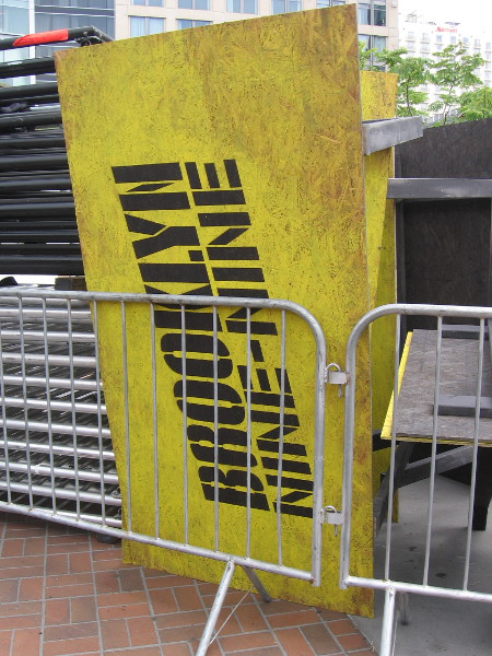 Part of the Brooklyn Nine-Nine activation for 2019 Comic-Con.