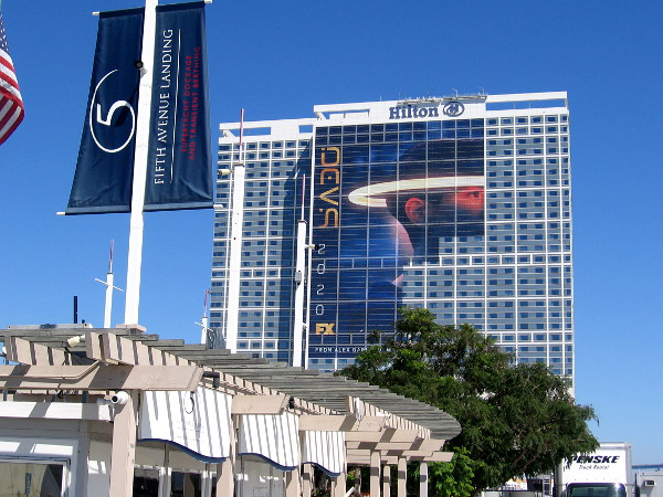 The cool FX Devs wrap on the Hilton is looking good.