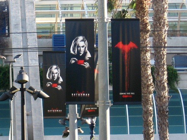 More of the cool Batwoman banners that will greet those who attend 2019 San Diego Comic-Con!