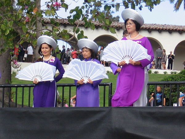 A dance followed that represented San Diego's Vietnamese community.