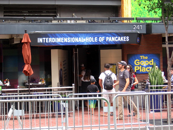 Interdimensional Hole of Pancakes.