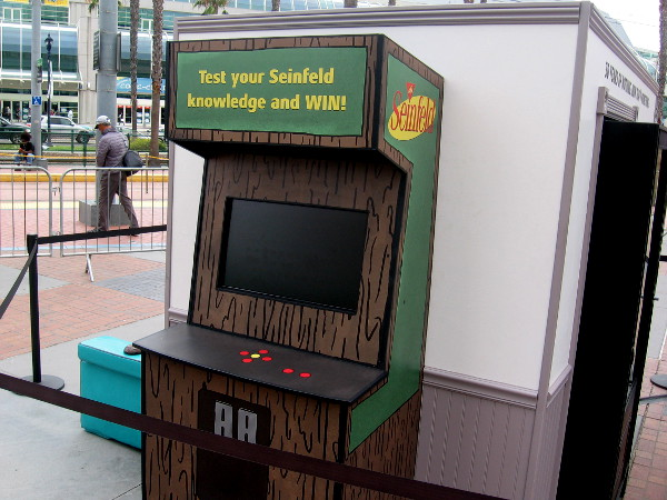 This arcade game lets you Test your Seinfeld knowledge and WIN!