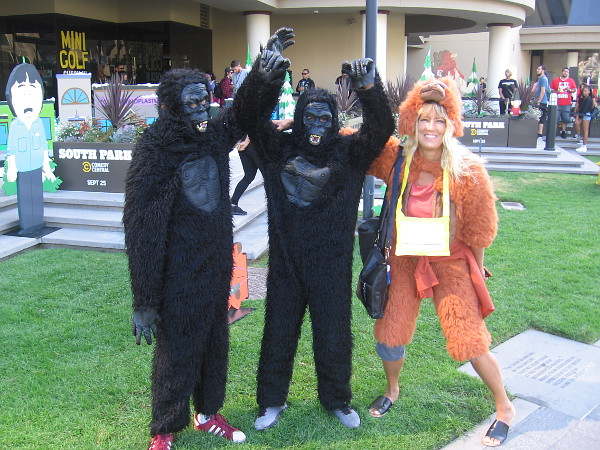 Ape Avengers cosplay!