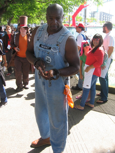 John Coffey of The Green Mile cosplay.