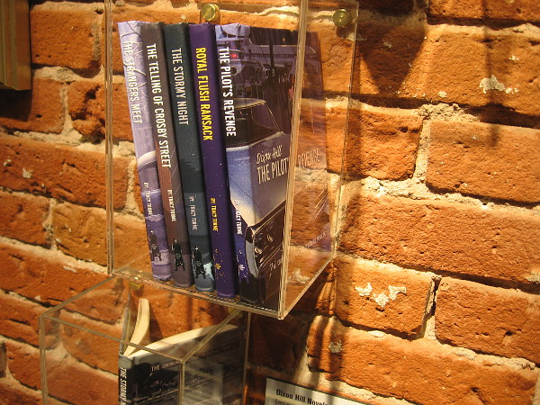 Dixon Hill Novels. Picard enjoyed reading Shakespeare and these Dixon Hill detective novels from author Tracy Tormé.