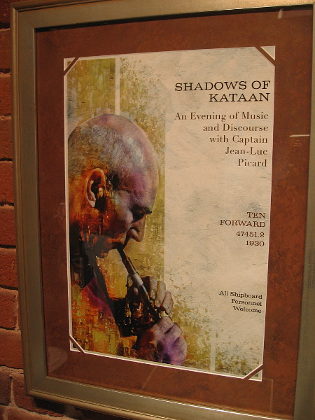 SHADOWS OF KATAAN. An Evening of Music and Discourse with Captain Jean-Luc Picard.