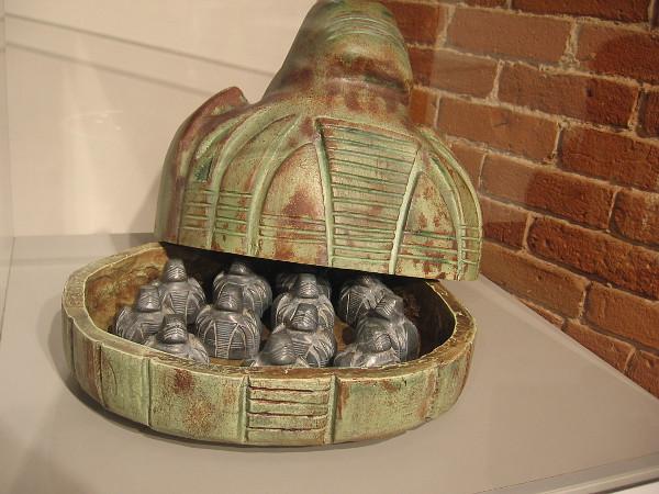 Third Dynasty Kurlan Naiskos, a revered artifact of the ancient, extinct civilization of the planet Kurl.