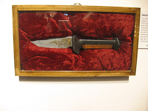 Tamarian Knife, a gift to Picard in 2368, by Tamarian ship captain Dathon.
