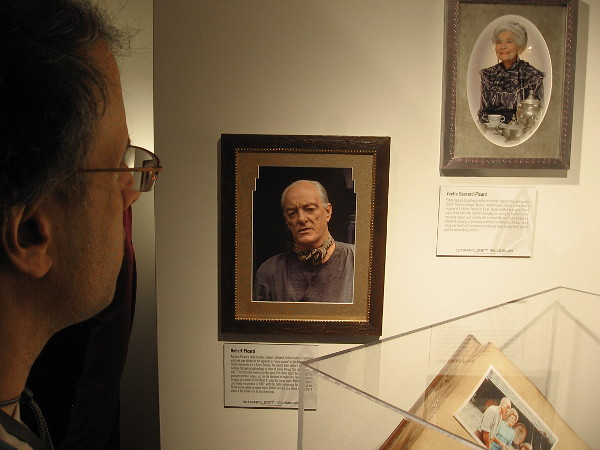 Photos of older brother Robert Picard and mother Yvette Gassard-Picard.