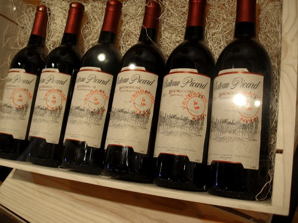 Chateau Picard Wine. The Picard family vineyards near La Barre, France produce one of Earth's premiere red wines.