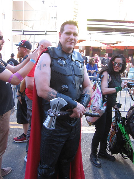 Thor cosplay.