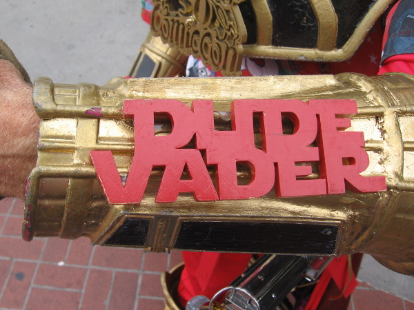Dude Vader is a local cosplayer who has recently begun making his elaborate costumes with 3D printing.